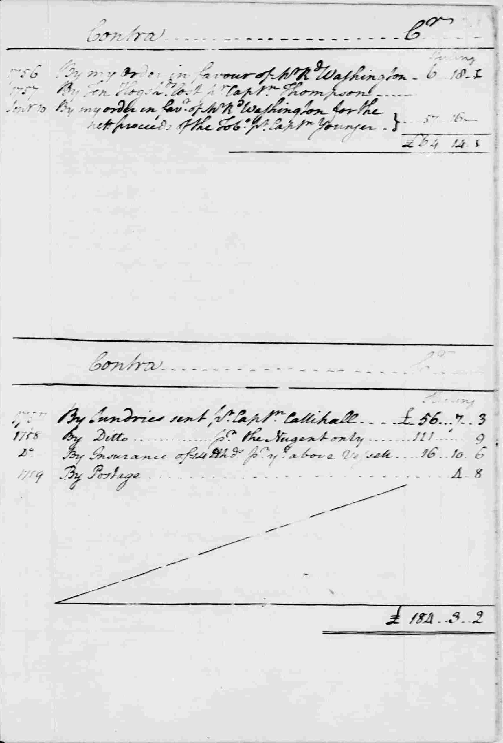 Ledger A, folio 16, right side