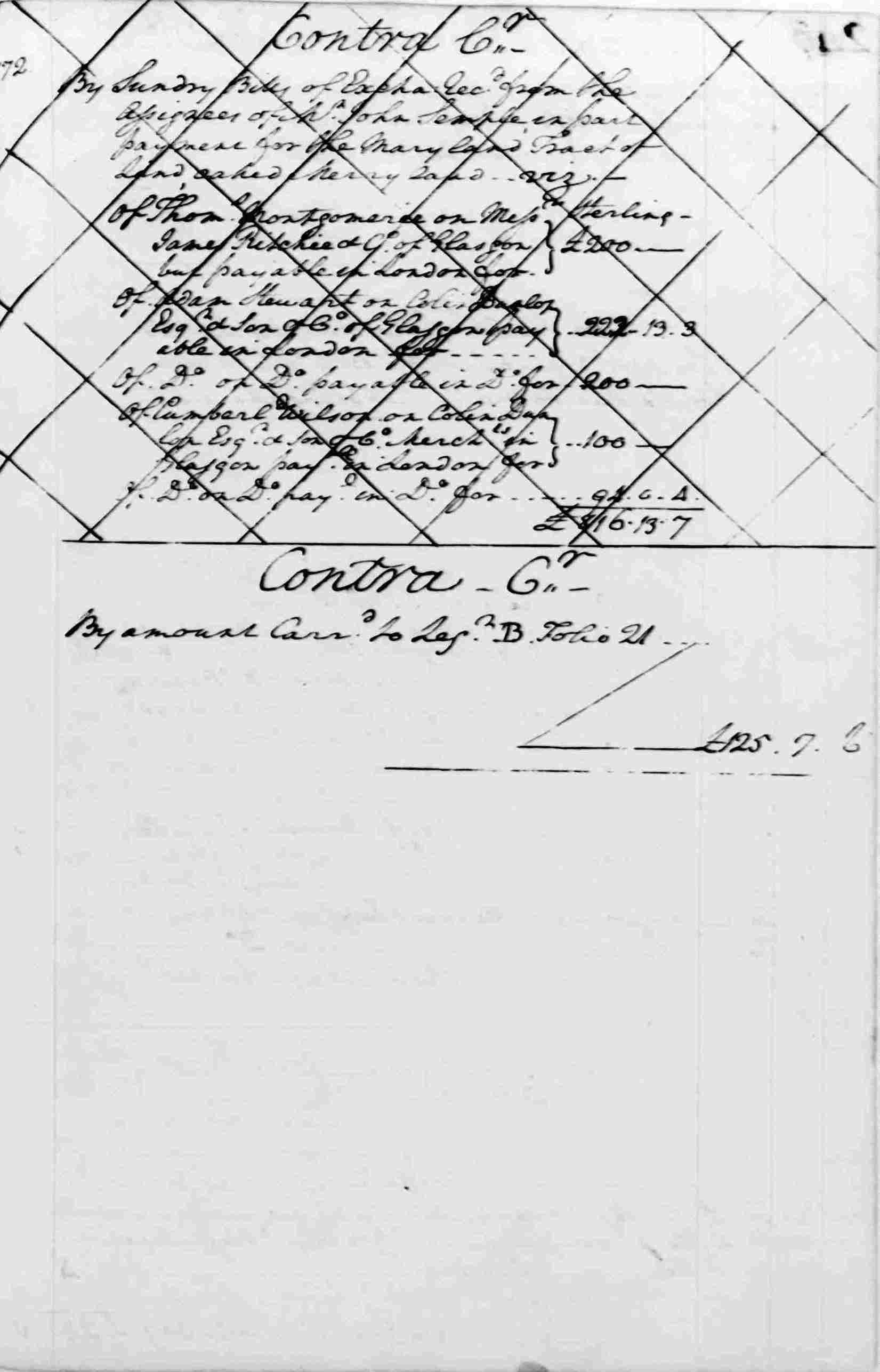 Ledger A, folio 246, right side