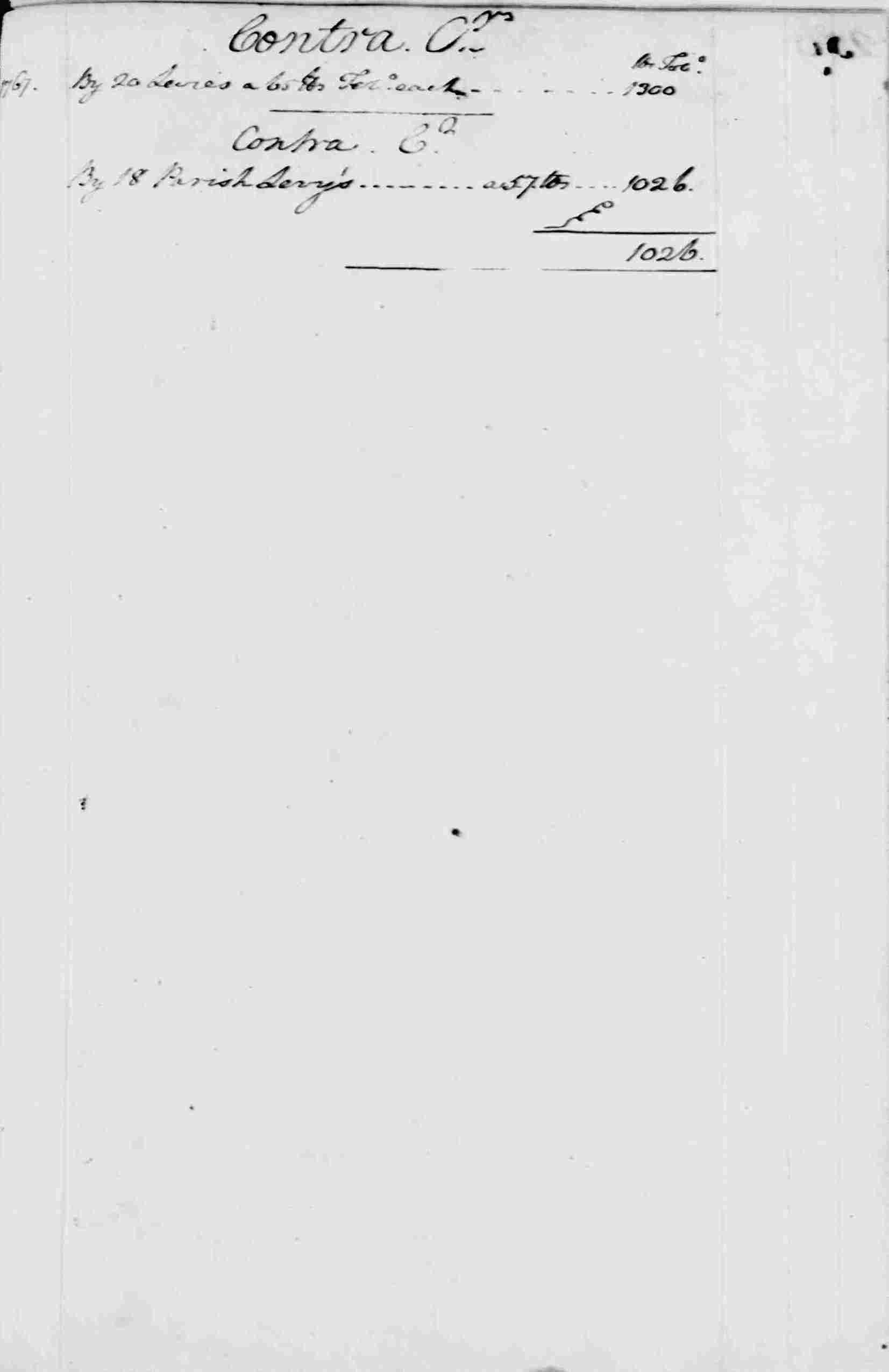 Ledger A, folio 258, right side