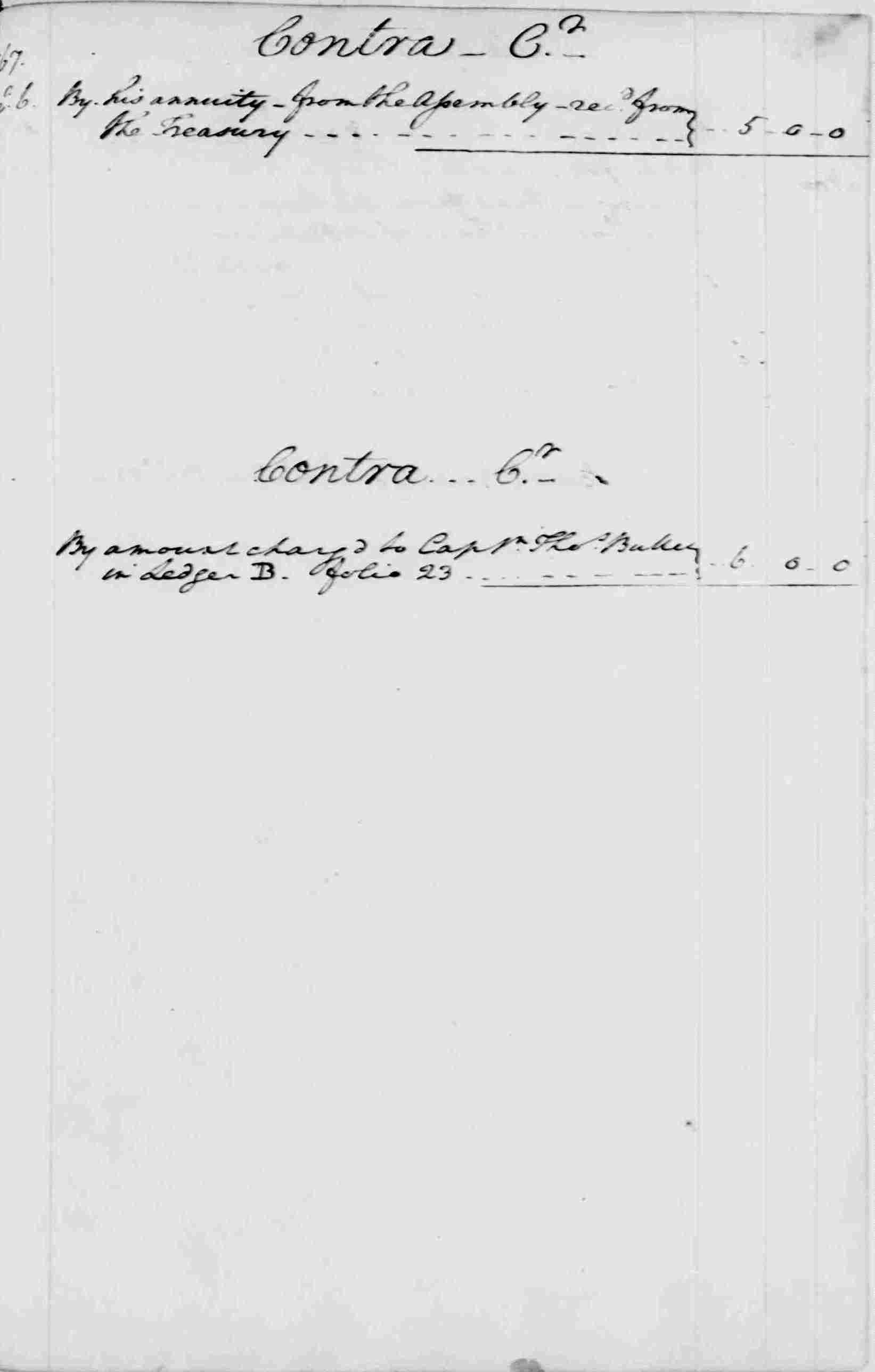 Ledger A, folio 264, right side