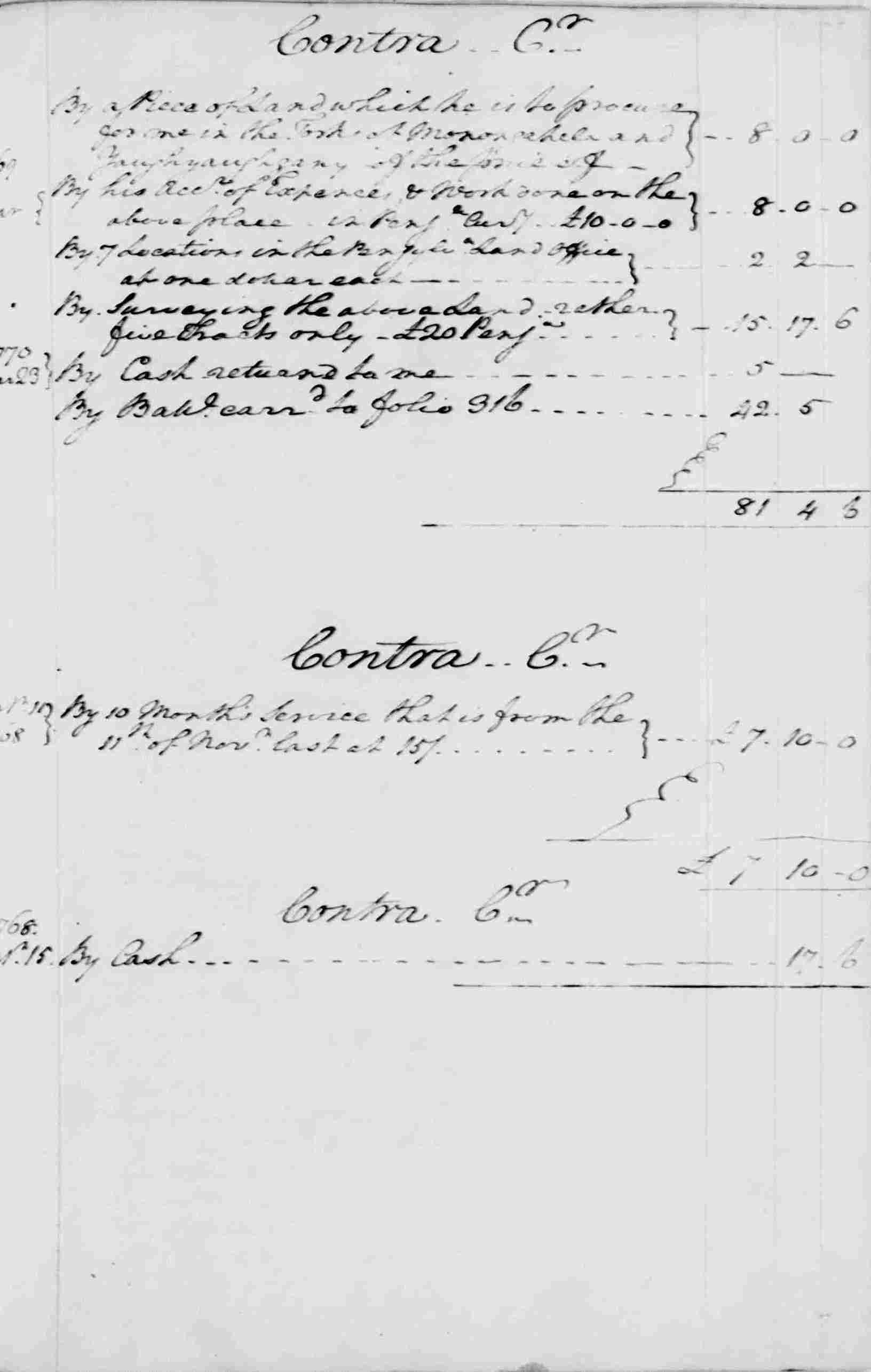 Ledger A, folio 273, right side