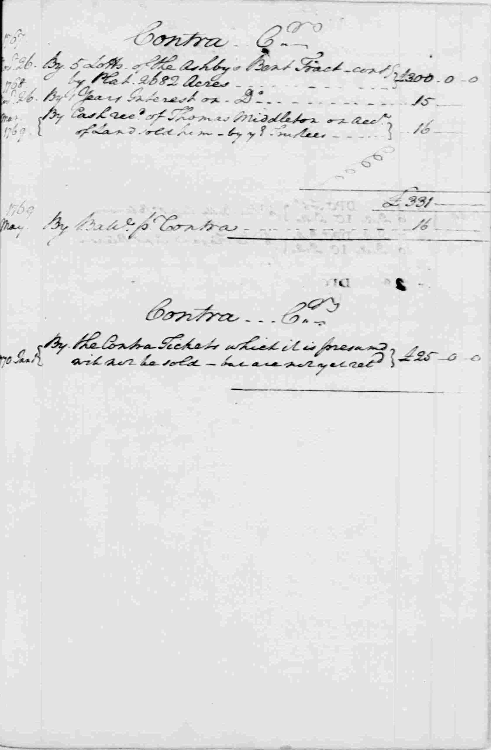Ledger A, folio 238, right side