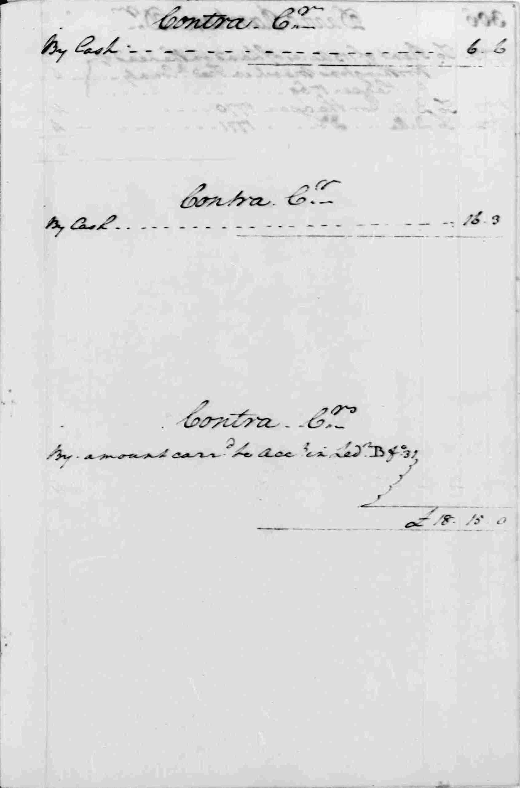 Ledger A, folio 305, right side