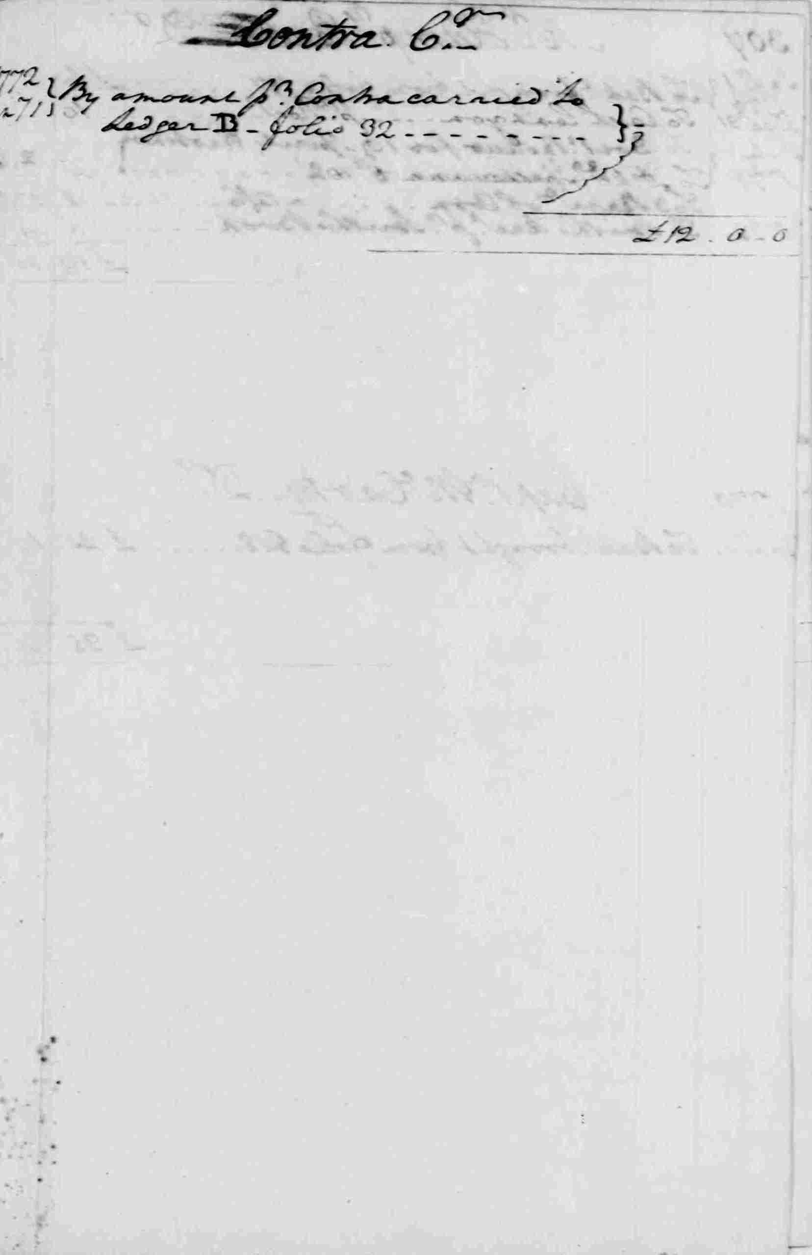 Ledger A, folio 306, right side