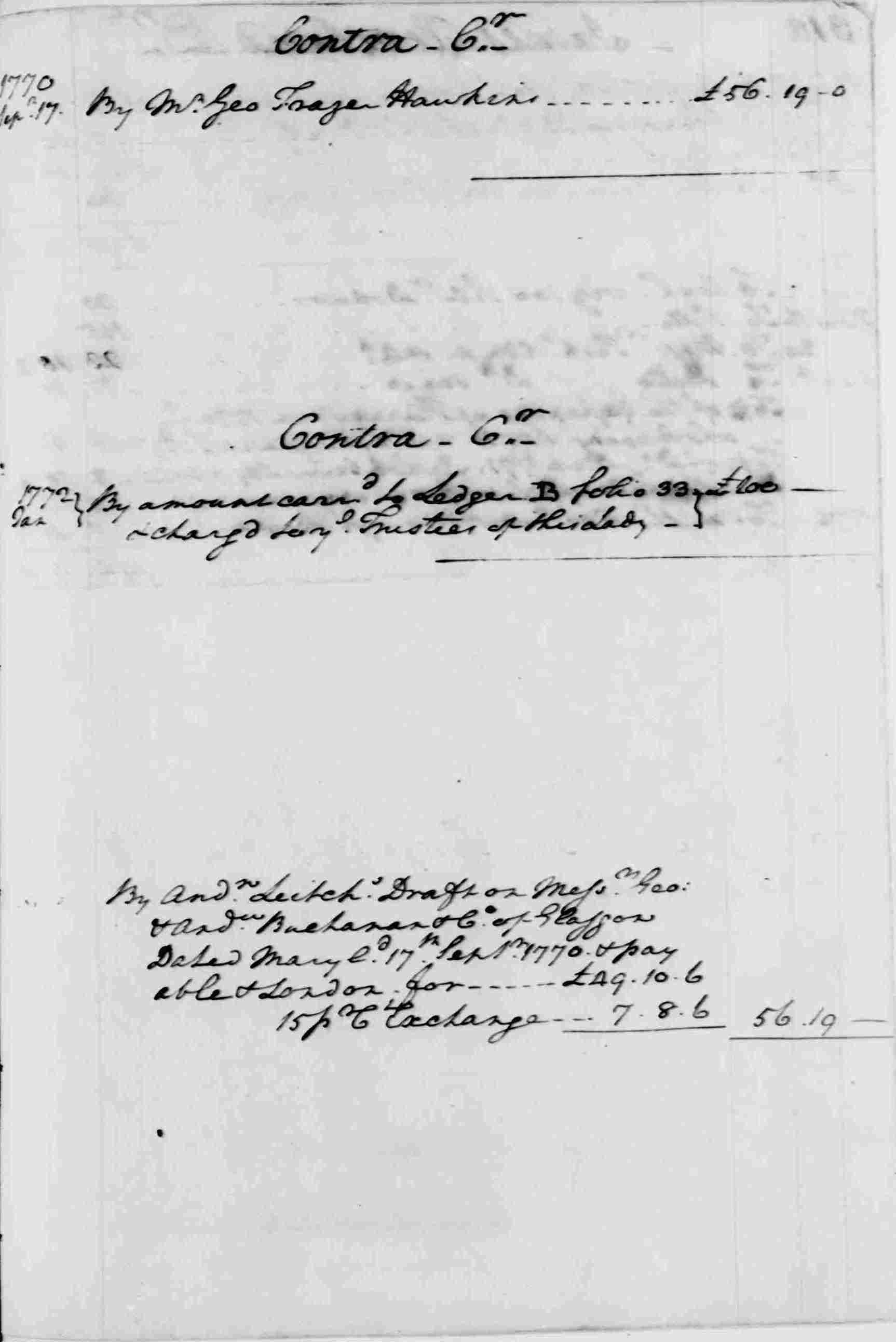 Ledger A, folio 311, right side