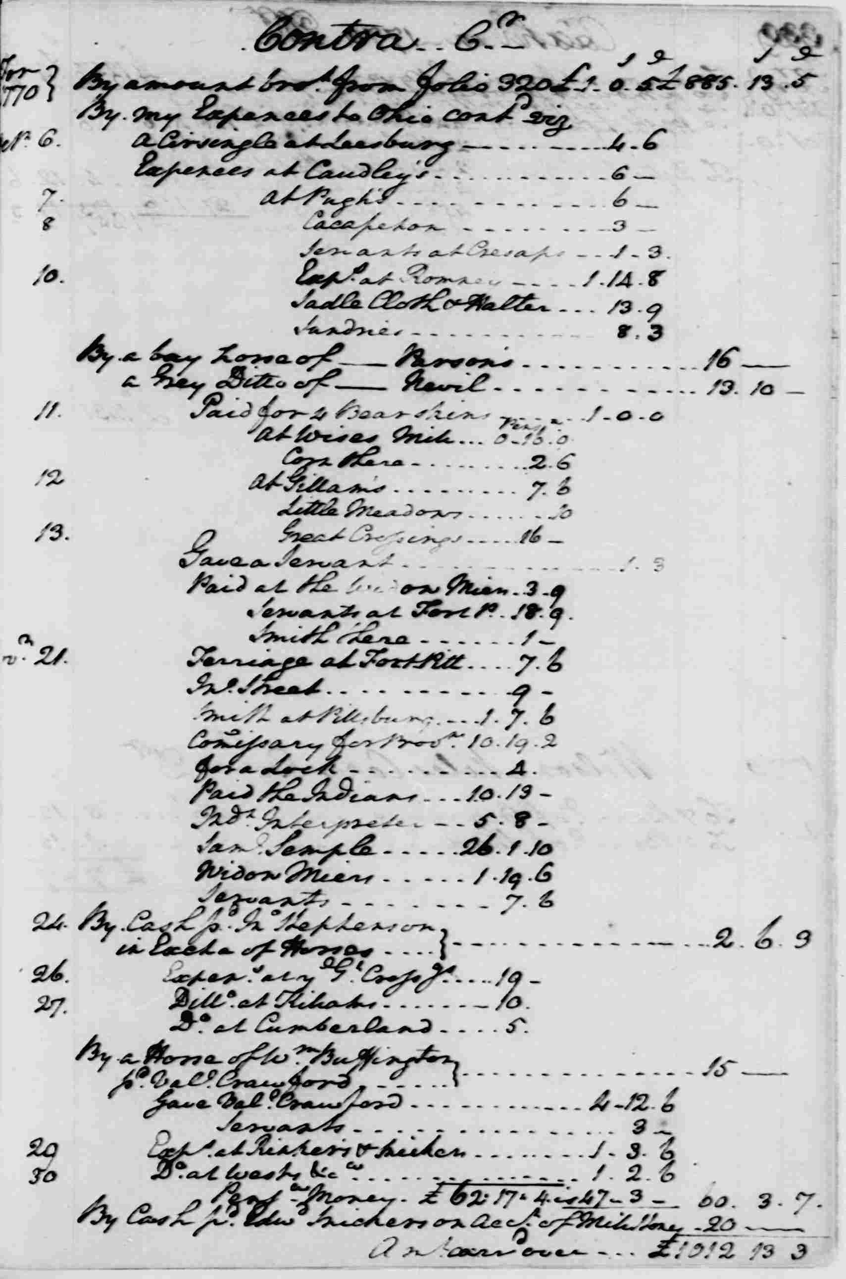 Ledger A, folio 329, right side