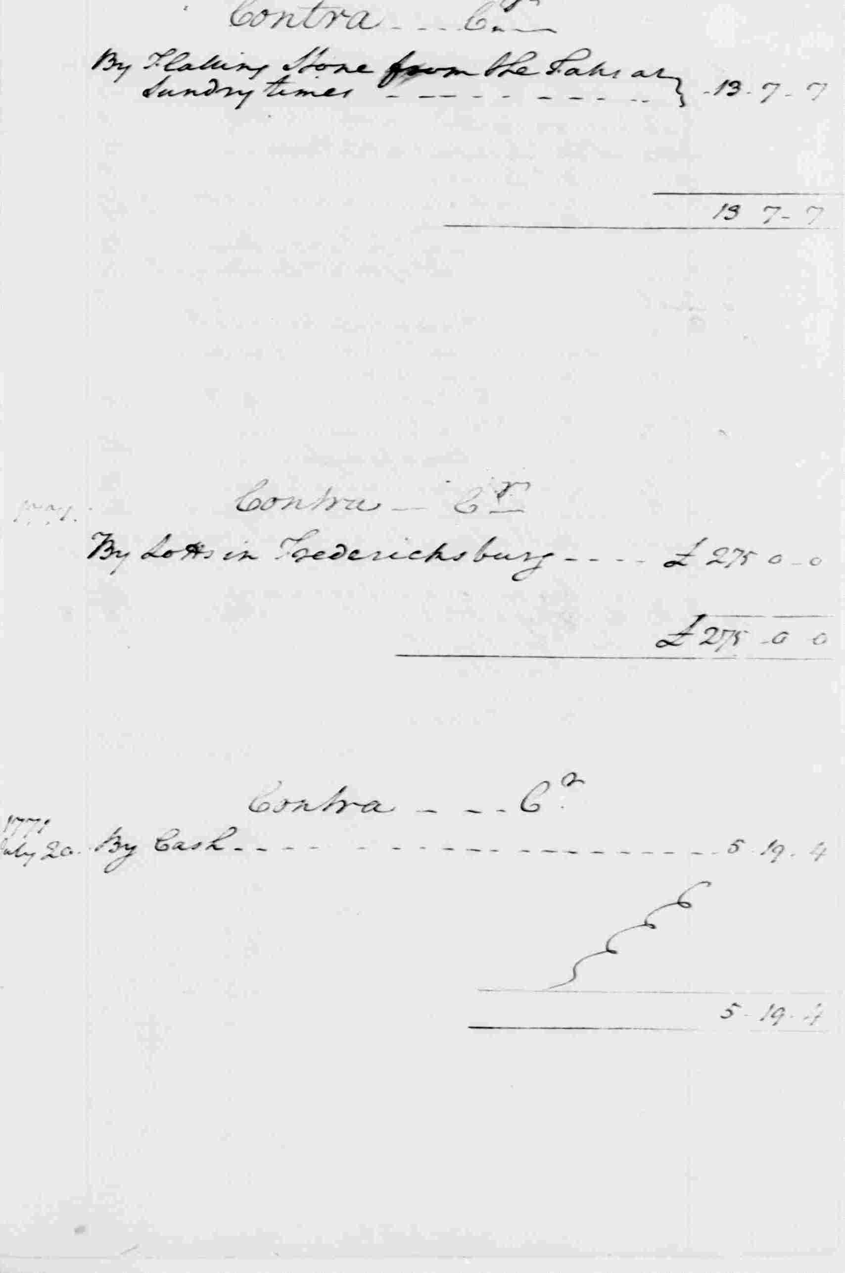 Ledger A, folio 336, right side