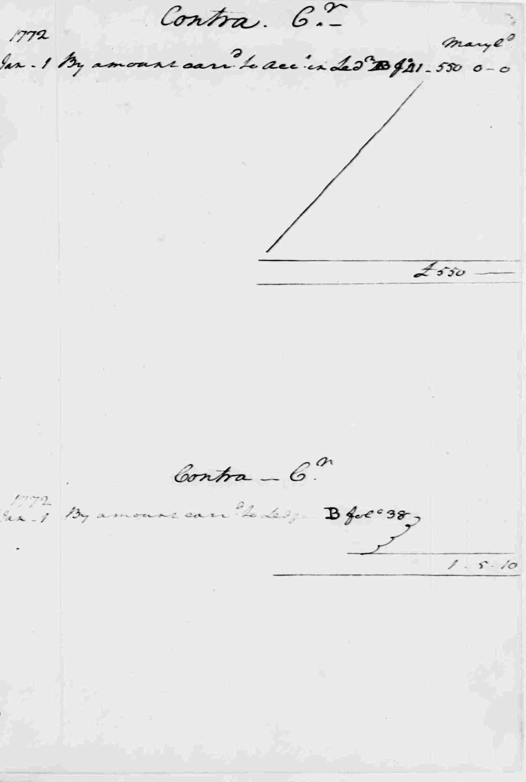 Ledger A, folio 352, right side