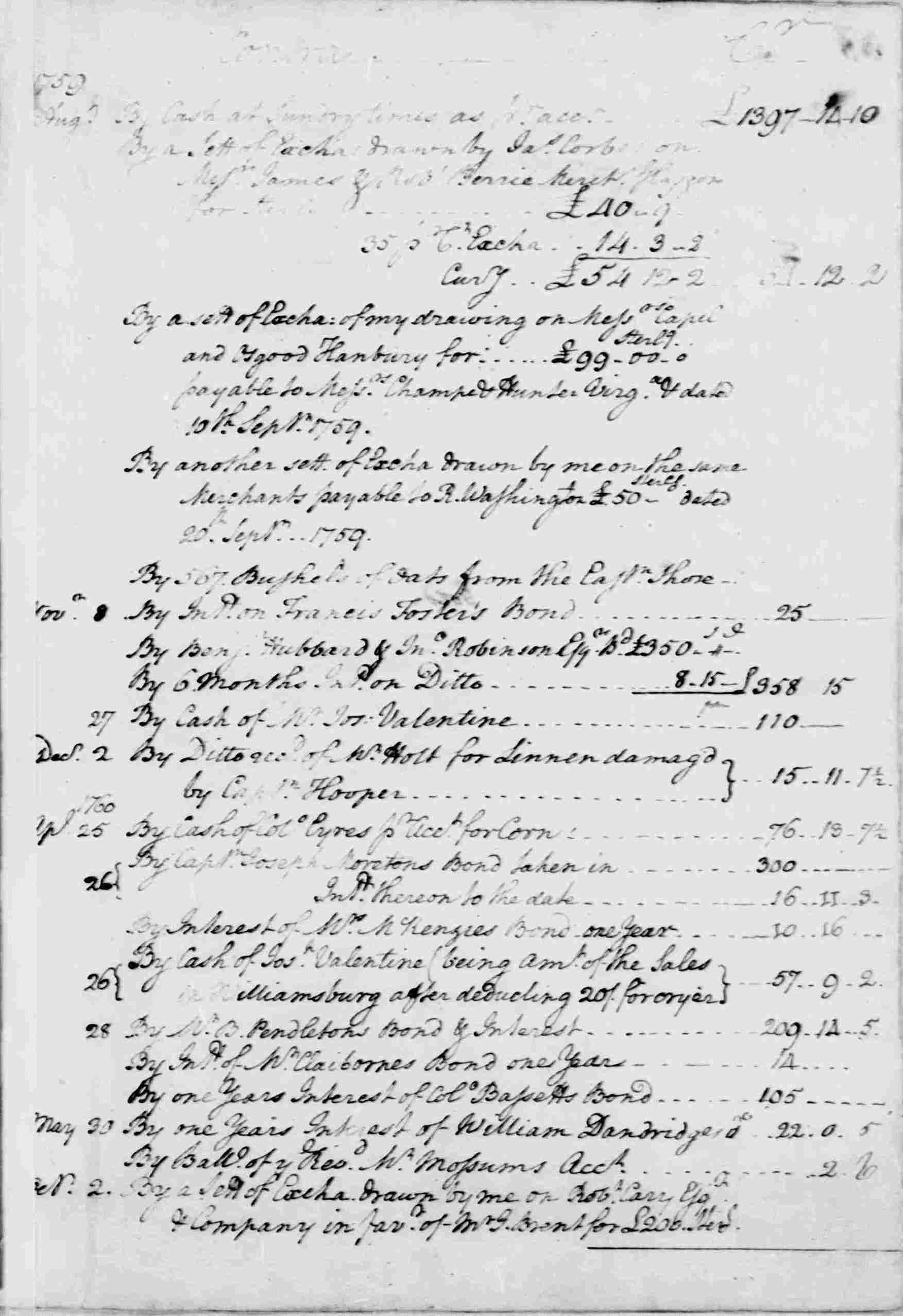 Ledger A, folio 57, right side