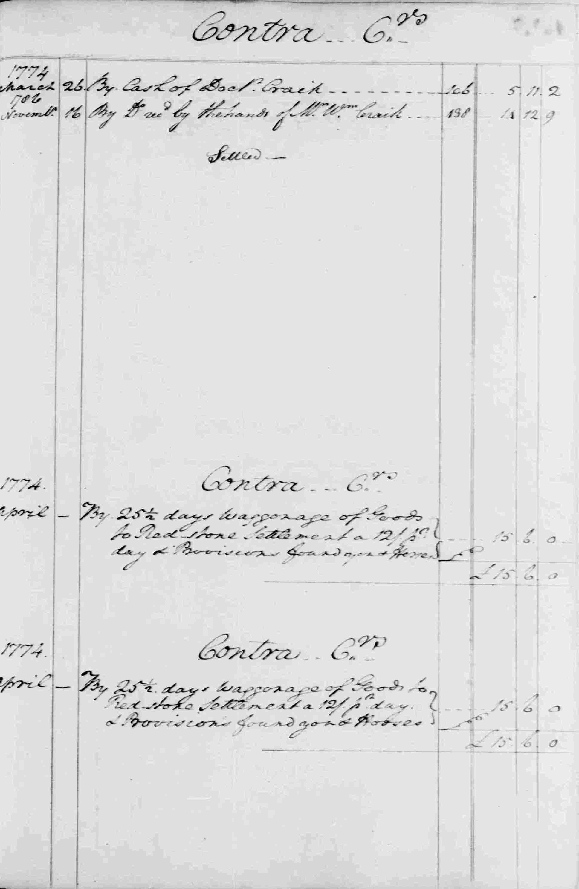 Ledger B, folio 102, right side