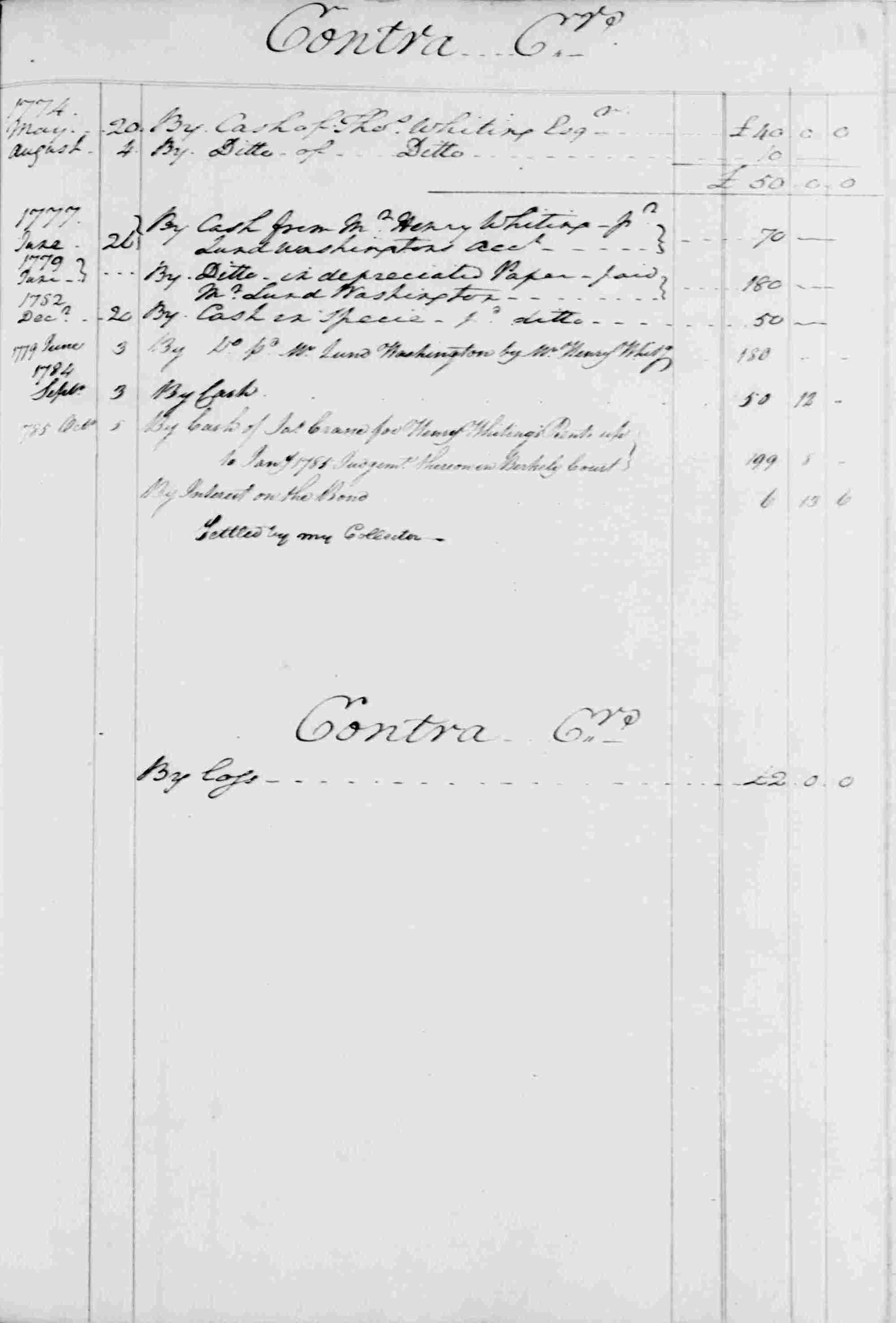 Ledger B, folio 113, right side