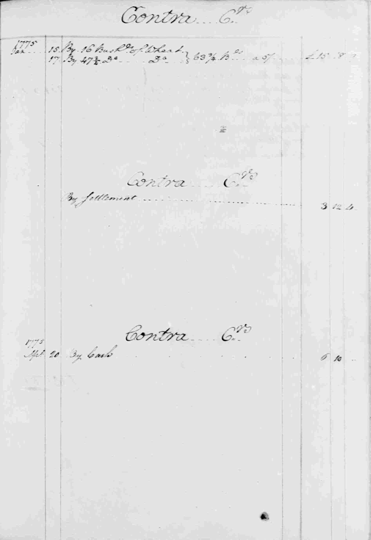 Ledger B, folio 134, right side