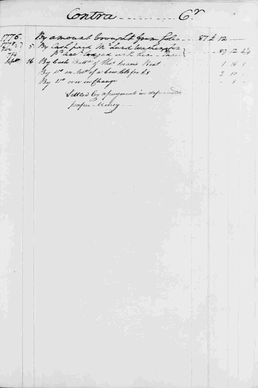 Ledger B, folio 138, right side
