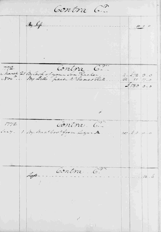 Ledger B, folio 17, right side
