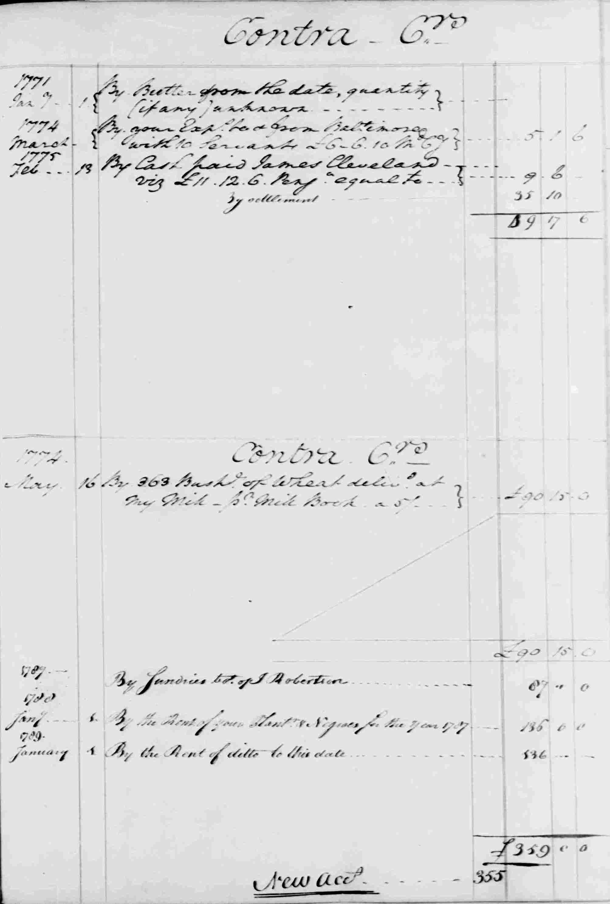 Ledger B, folio 27, right side
