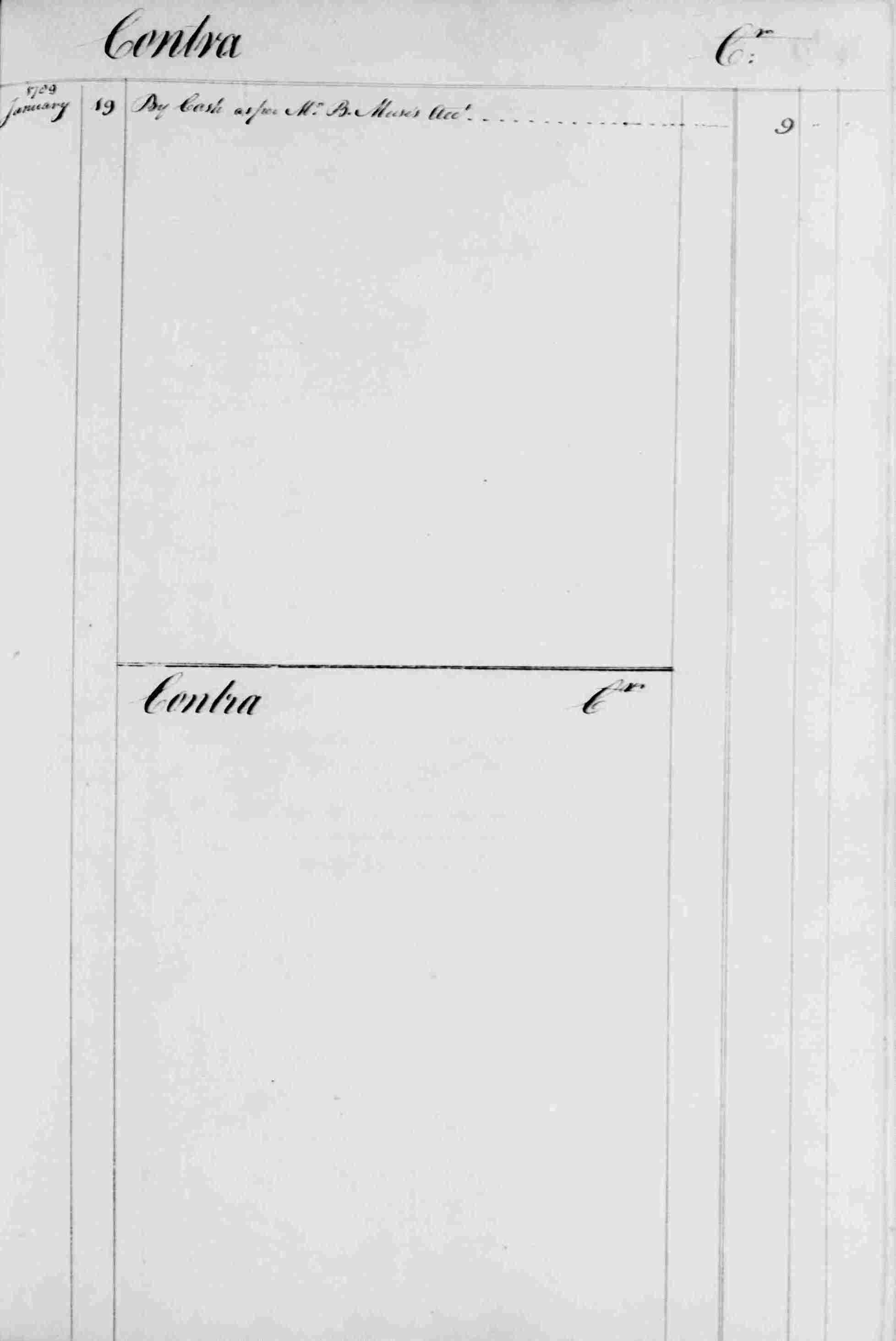 Ledger B, folio 281, right side