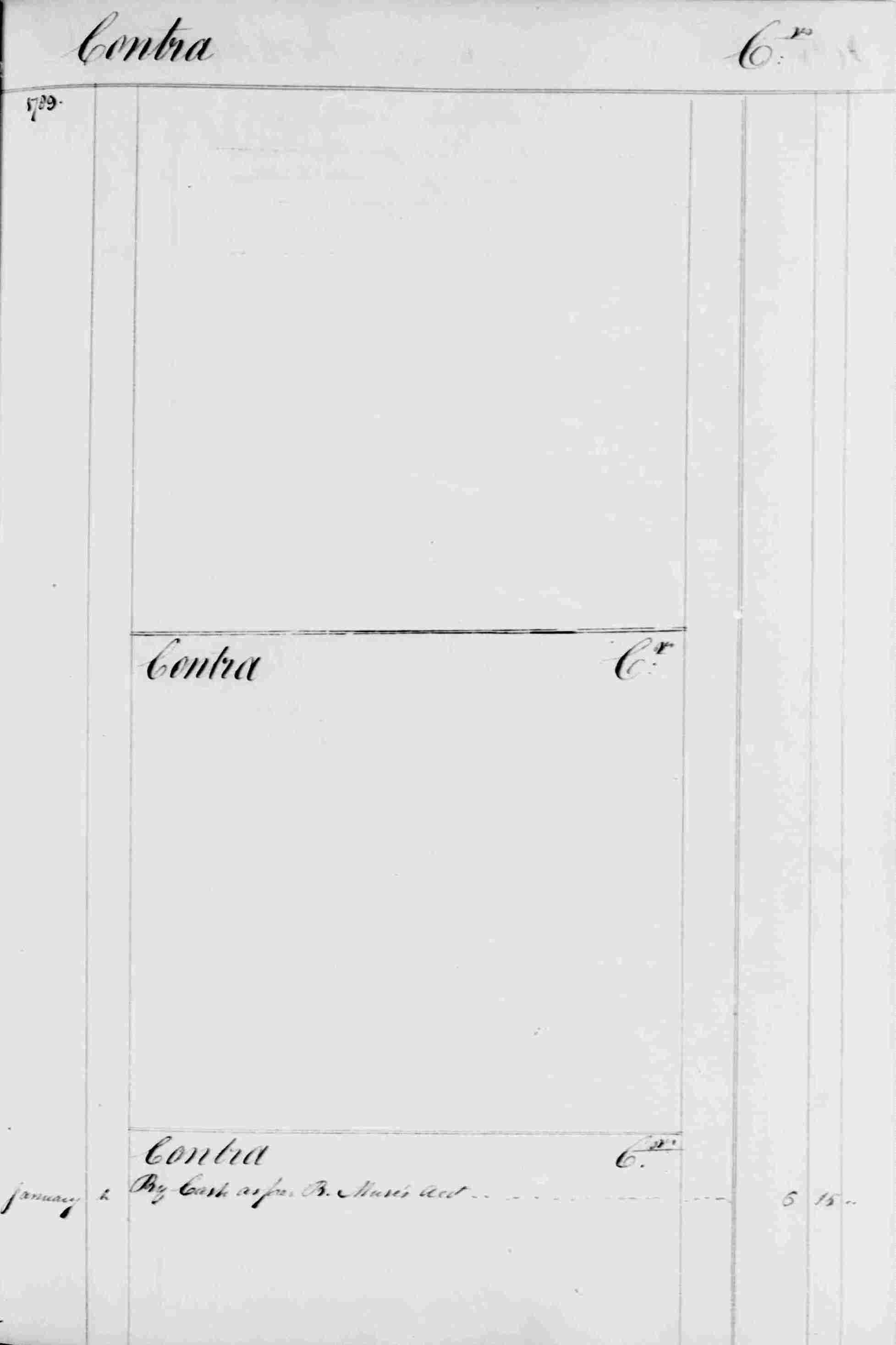 Ledger B, folio 284, right side
