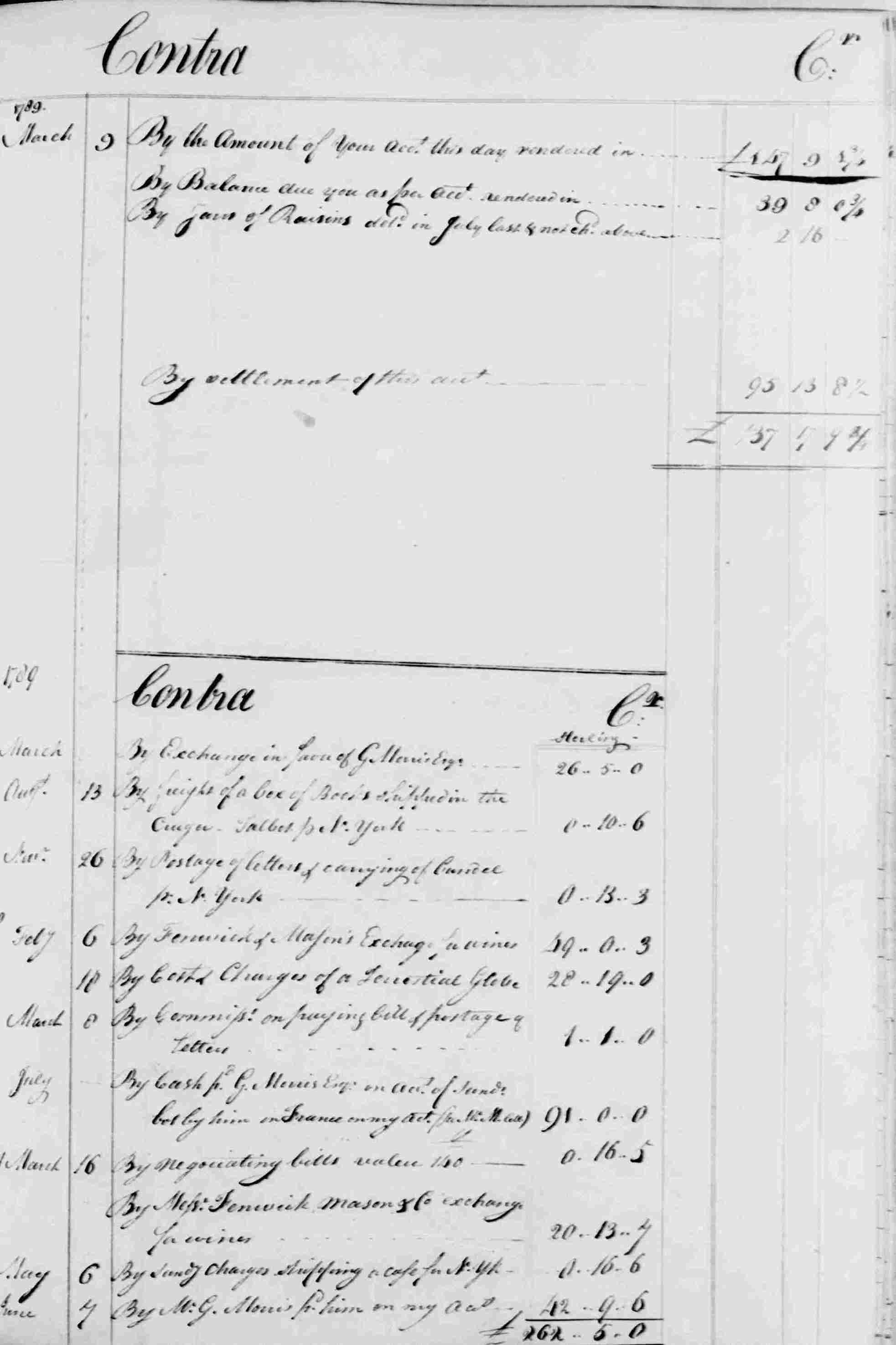Ledger B, folio 302, right side