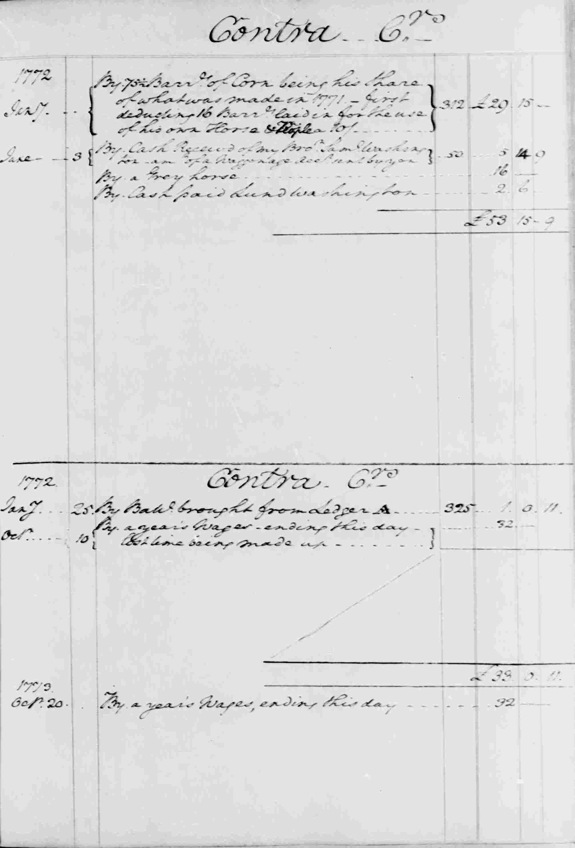 Ledger B, folio 34, right side