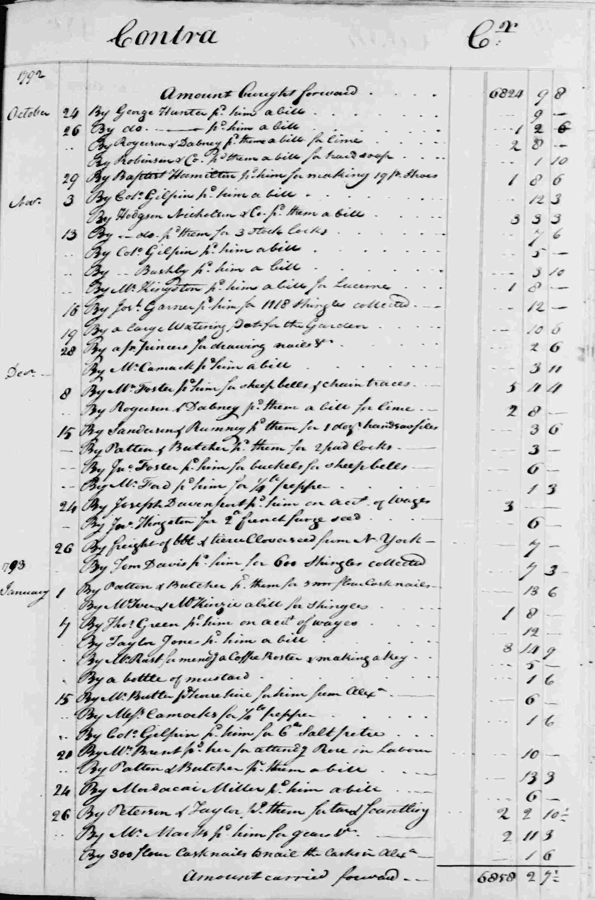Ledger B, folio 348, right side