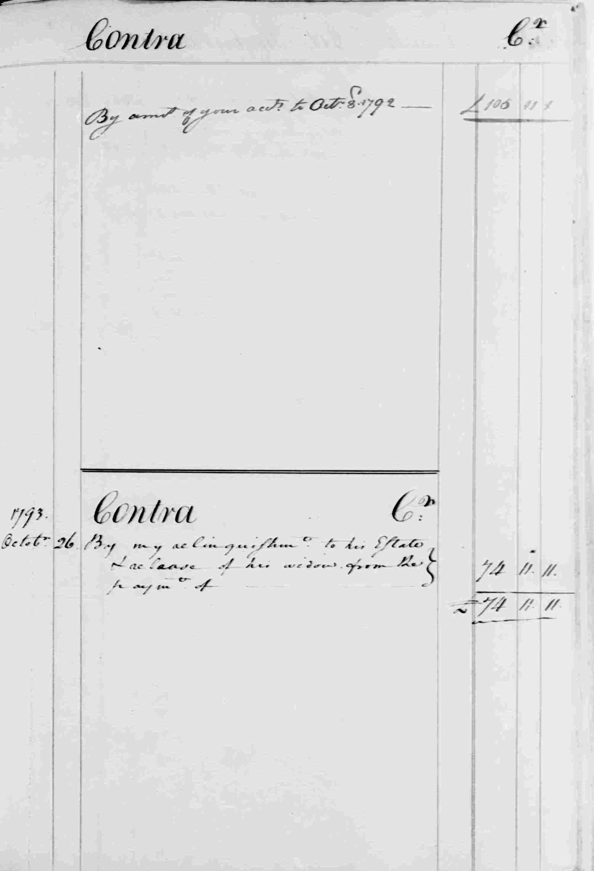 Ledger B, folio 357, right side