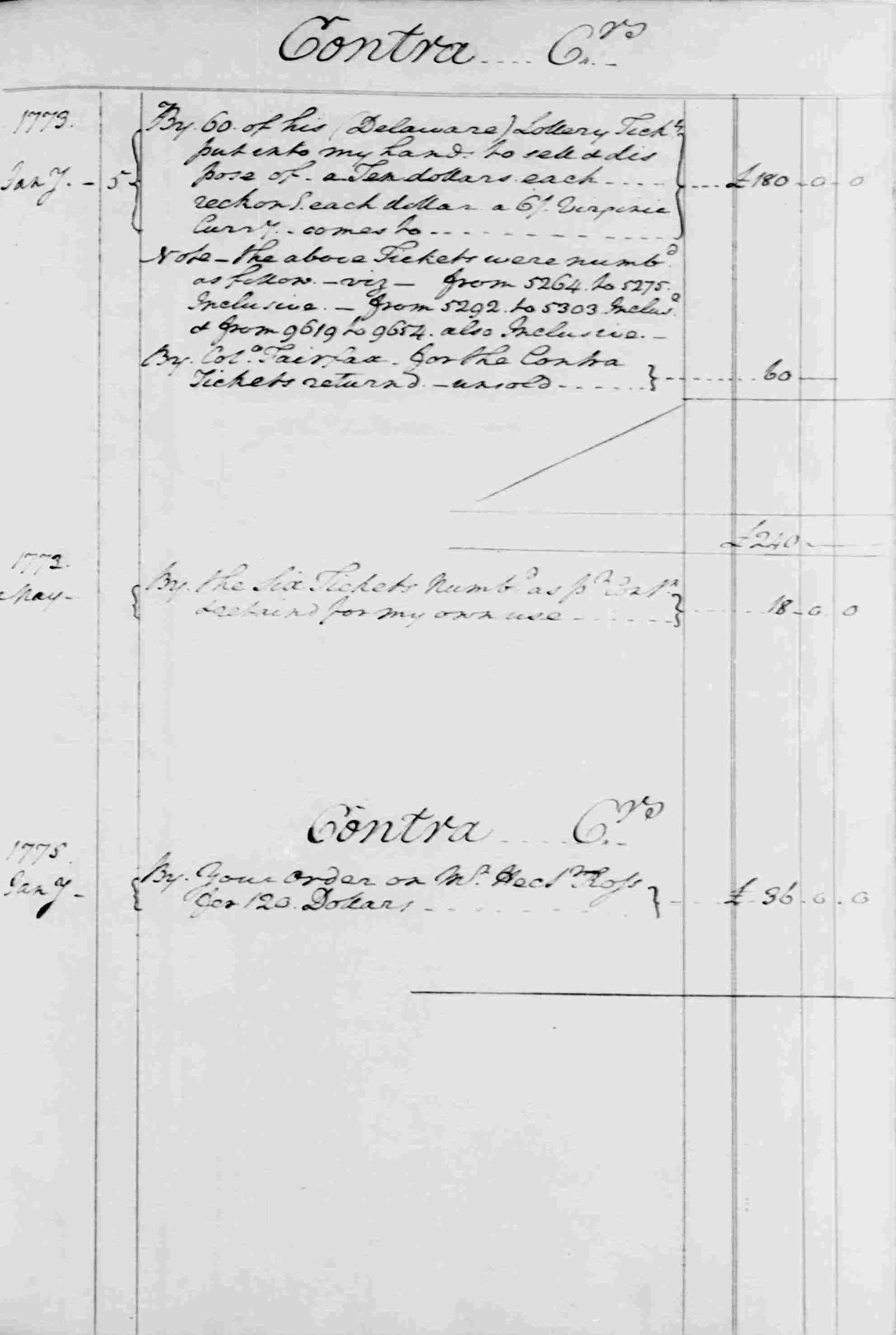Ledger B, folio 83, right side
