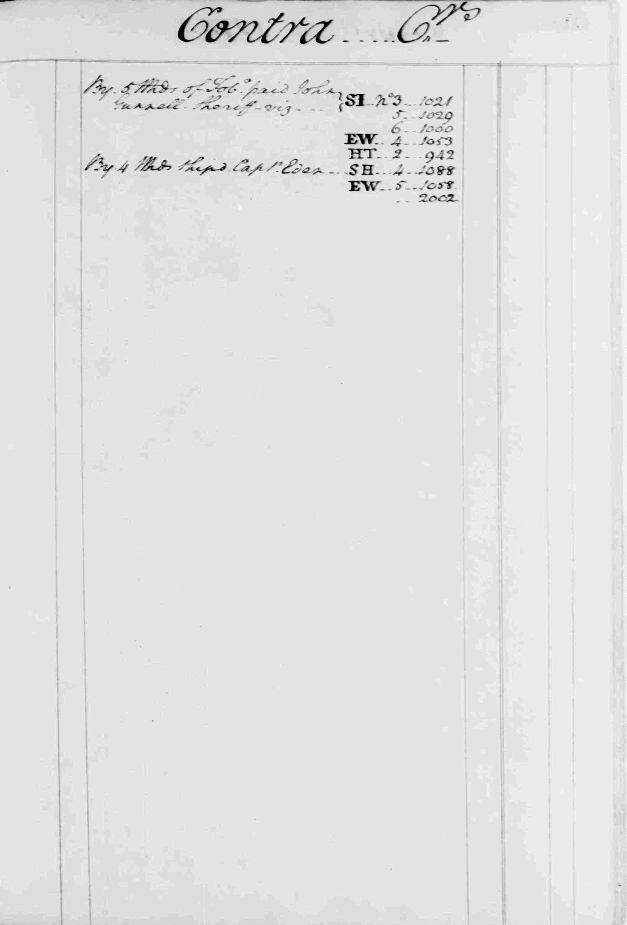 Ledger B, folio 89, right side