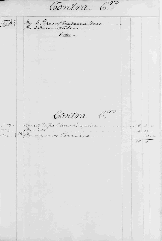 Ledger B, folio 92, right side
