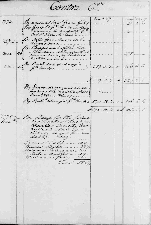 Ledger B, folio 99, right side