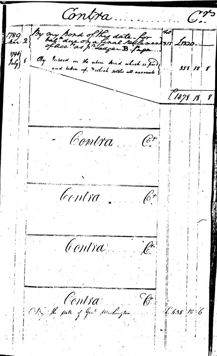 Ledger C, folio 1, right side