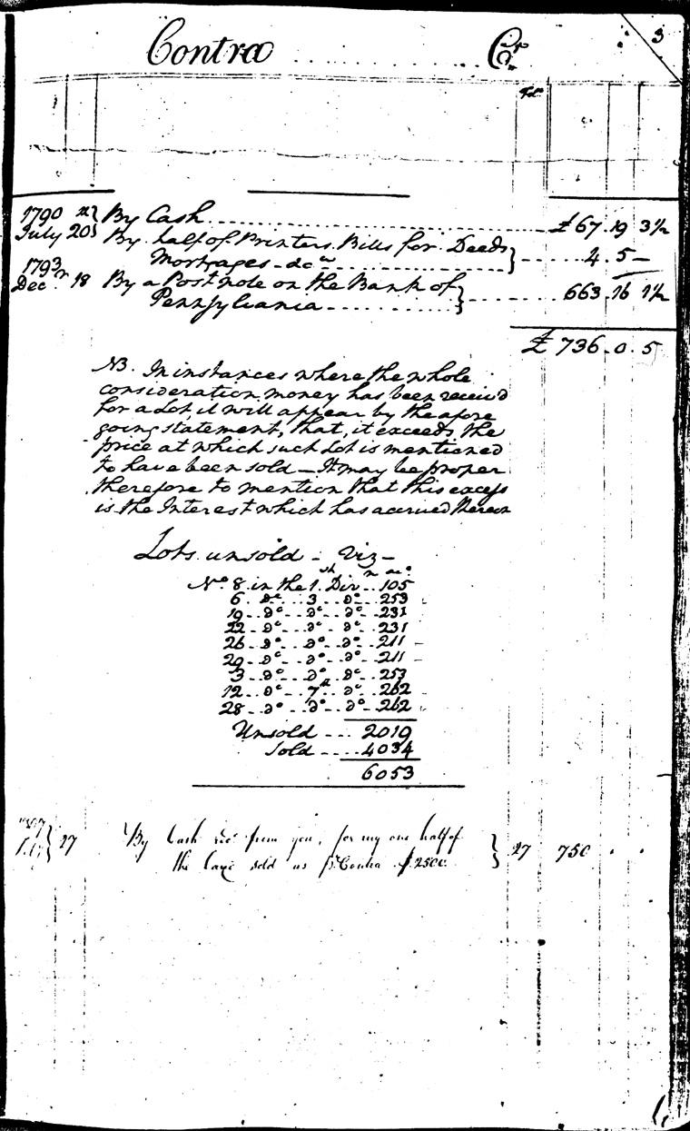 Ledger C, folio 2, right side