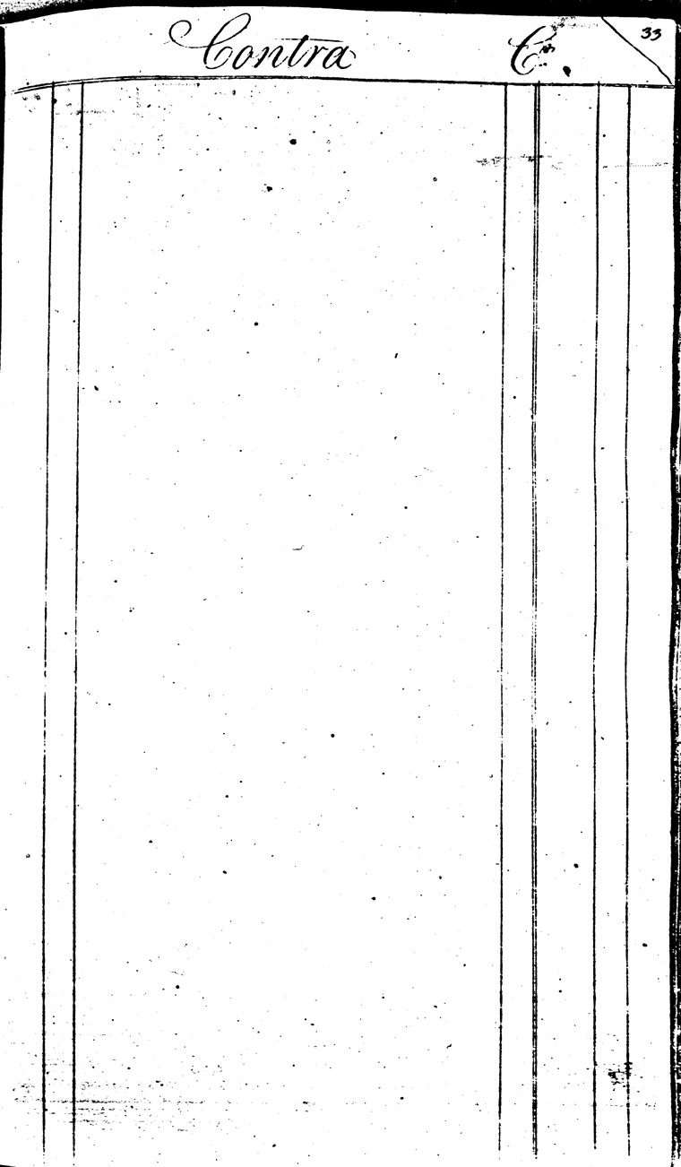 Ledger C, folio 33, right side