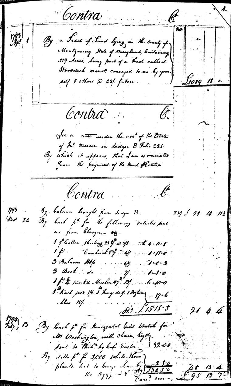 Ledger C, folio 4, right side