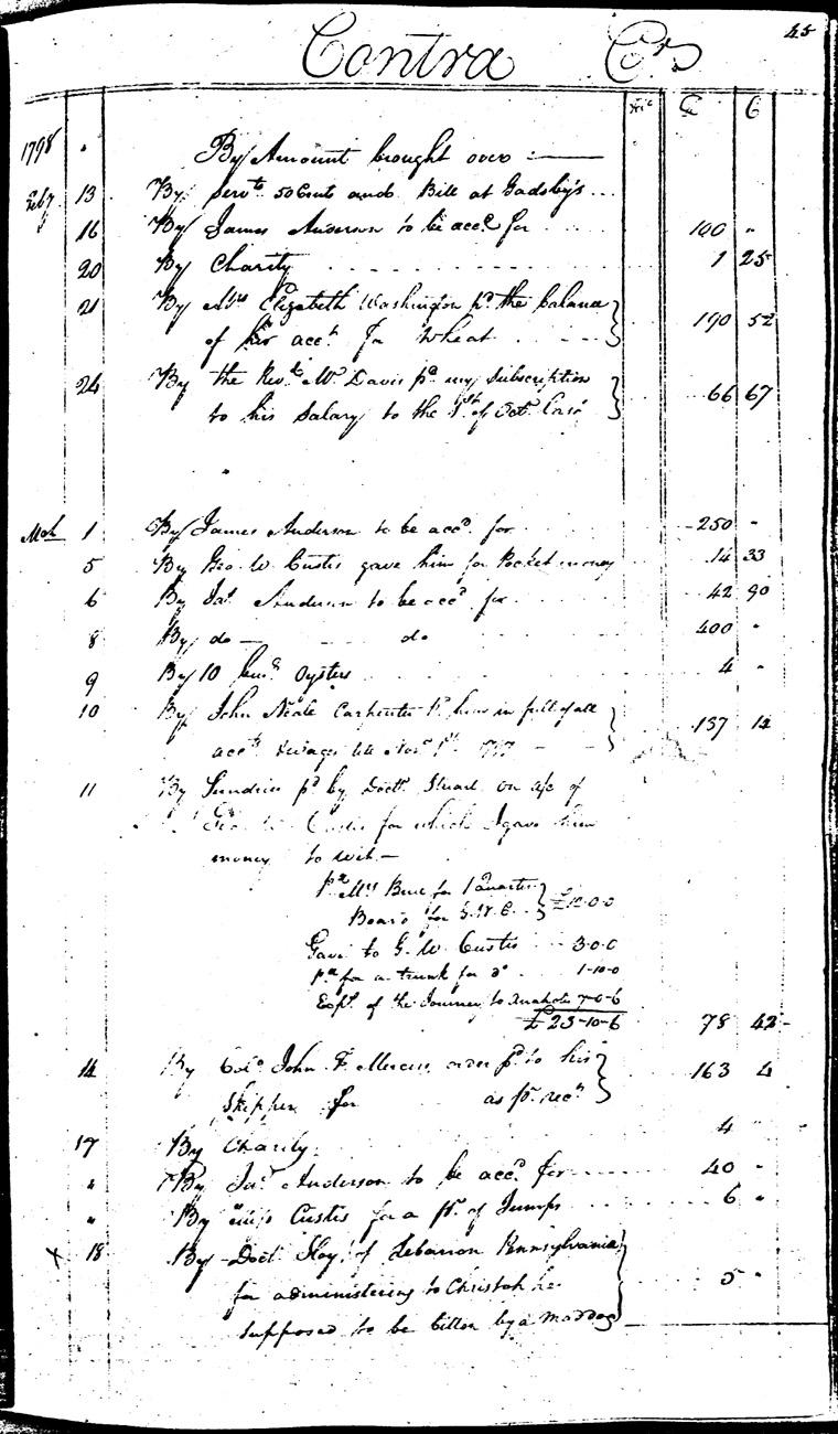 Ledger C, folio 45, right side
