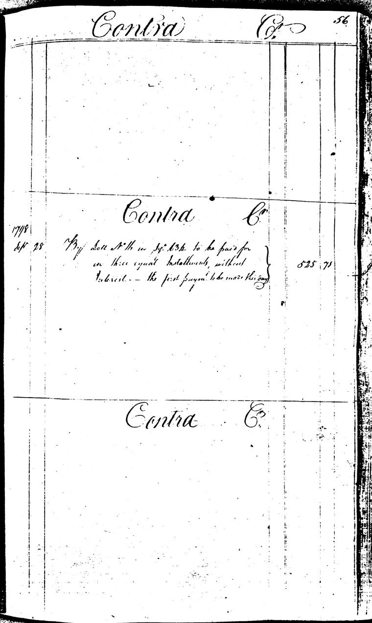 Ledger C, folio 56, right side
