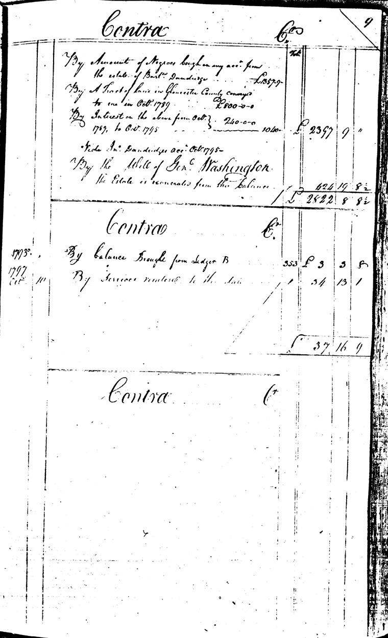 Ledger C, folio 9, right side