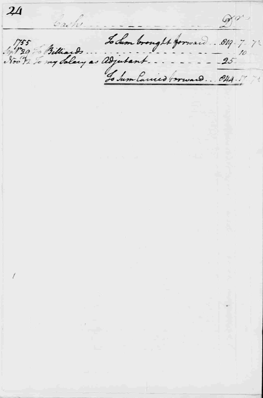 Ledger A, folio 24, left side