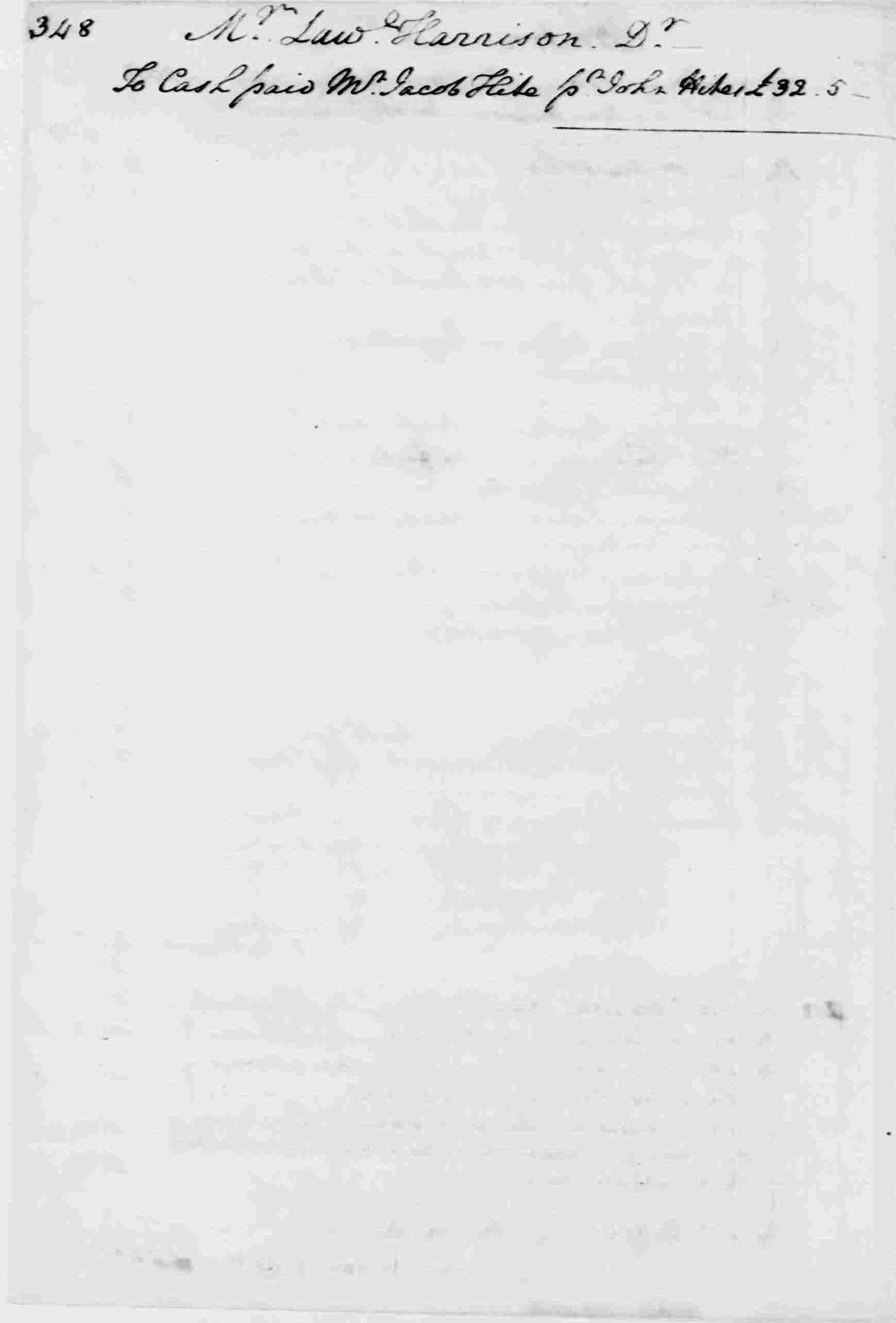Ledger A, folio 348, left side
