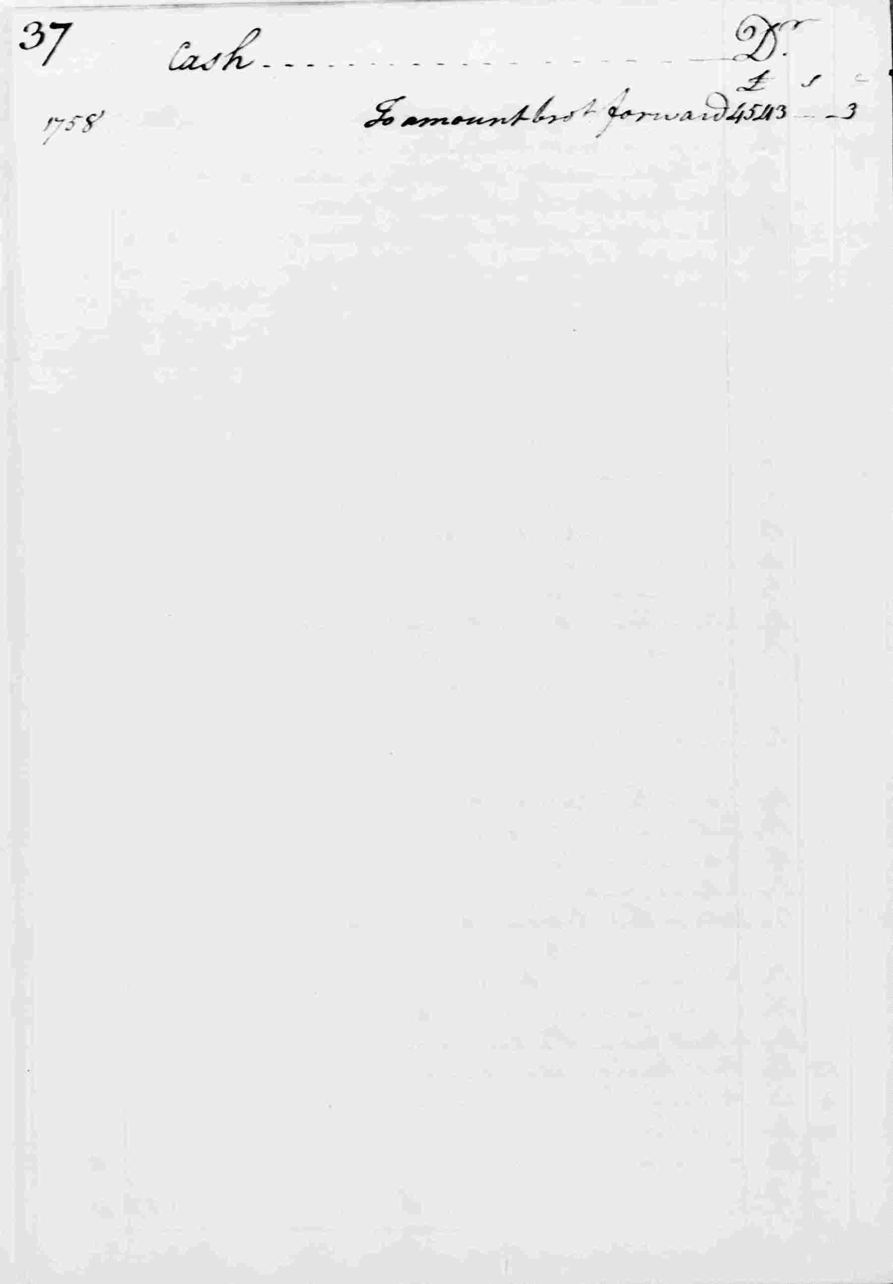 Ledger A, folio 37, left side