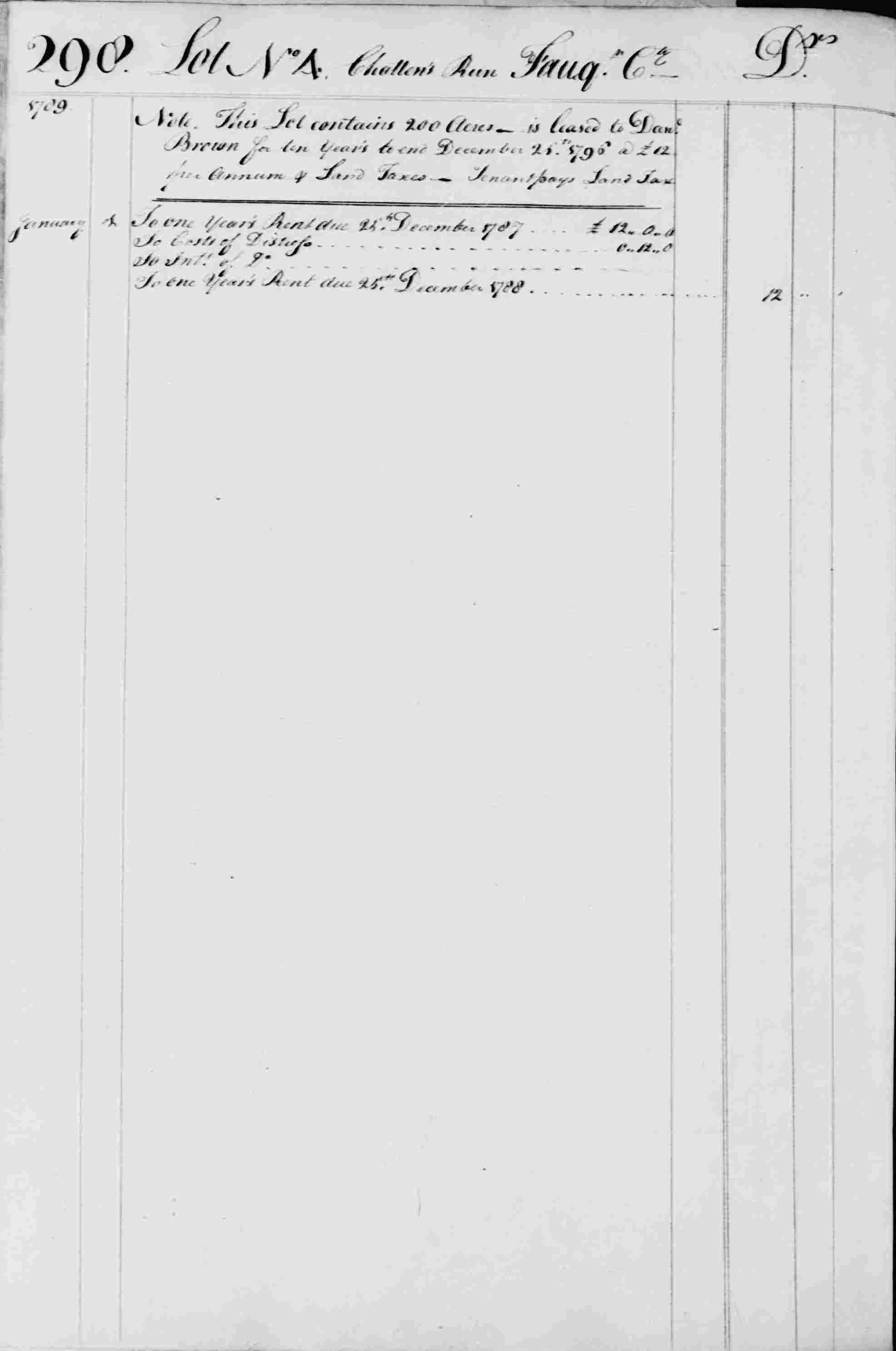Ledger B, folio 298, left side
