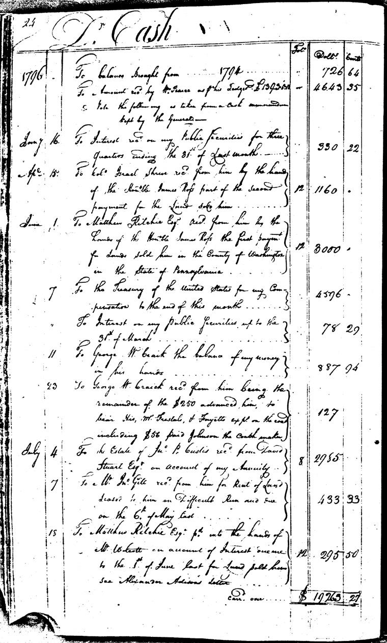 Ledger C, folio 24, left side
