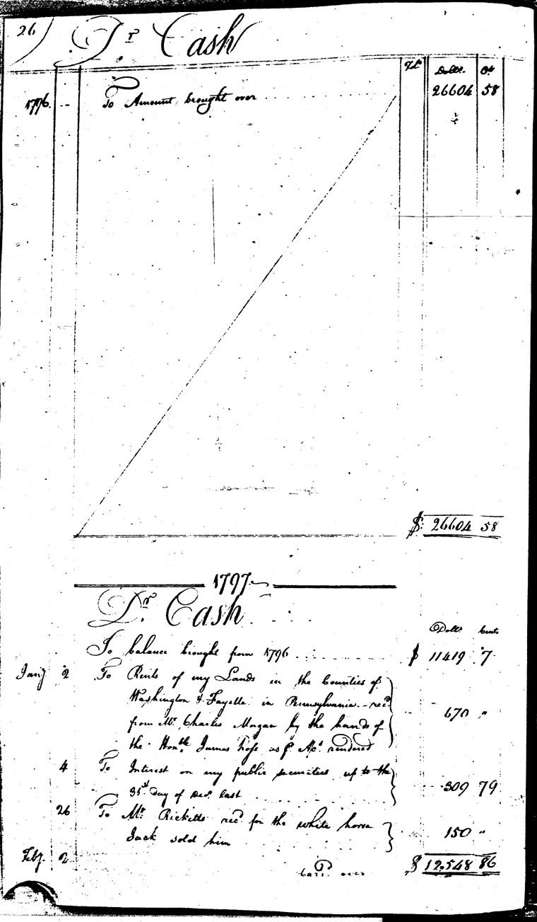 Ledger C, folio 26, left side