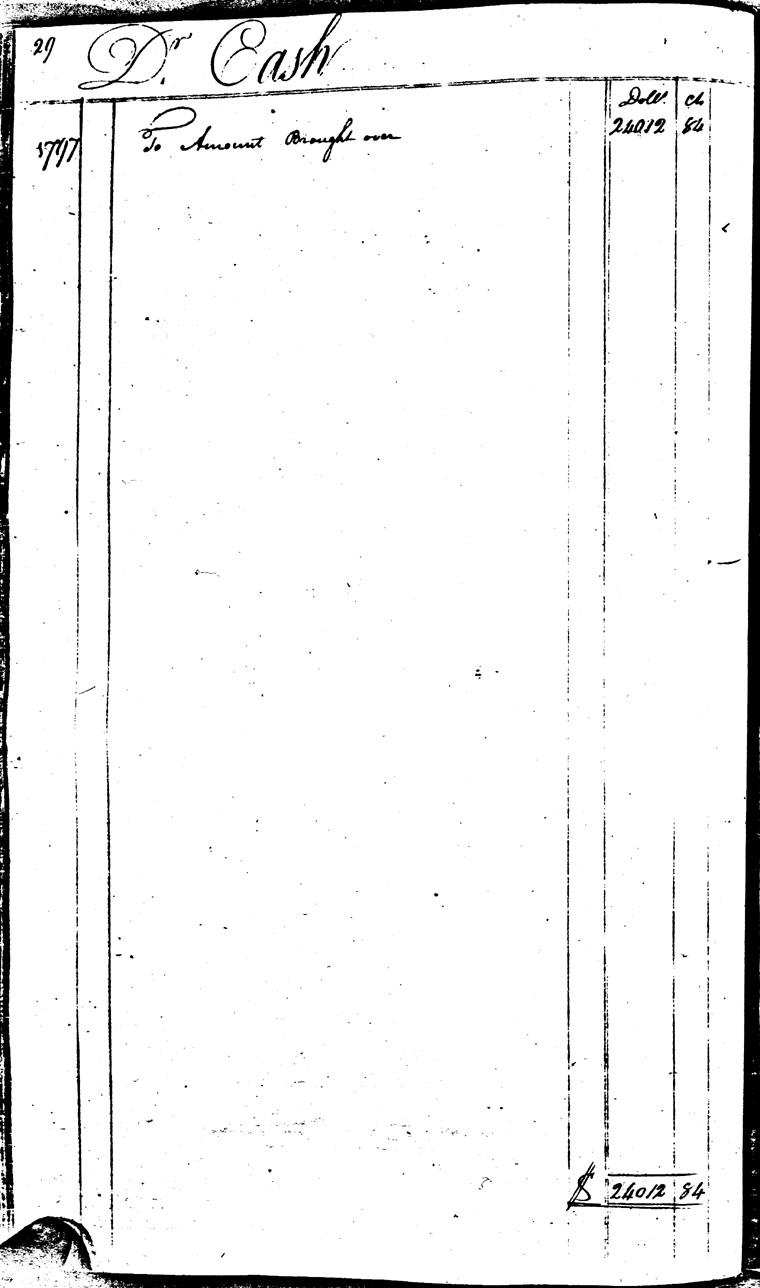 Ledger C, folio 29, left side