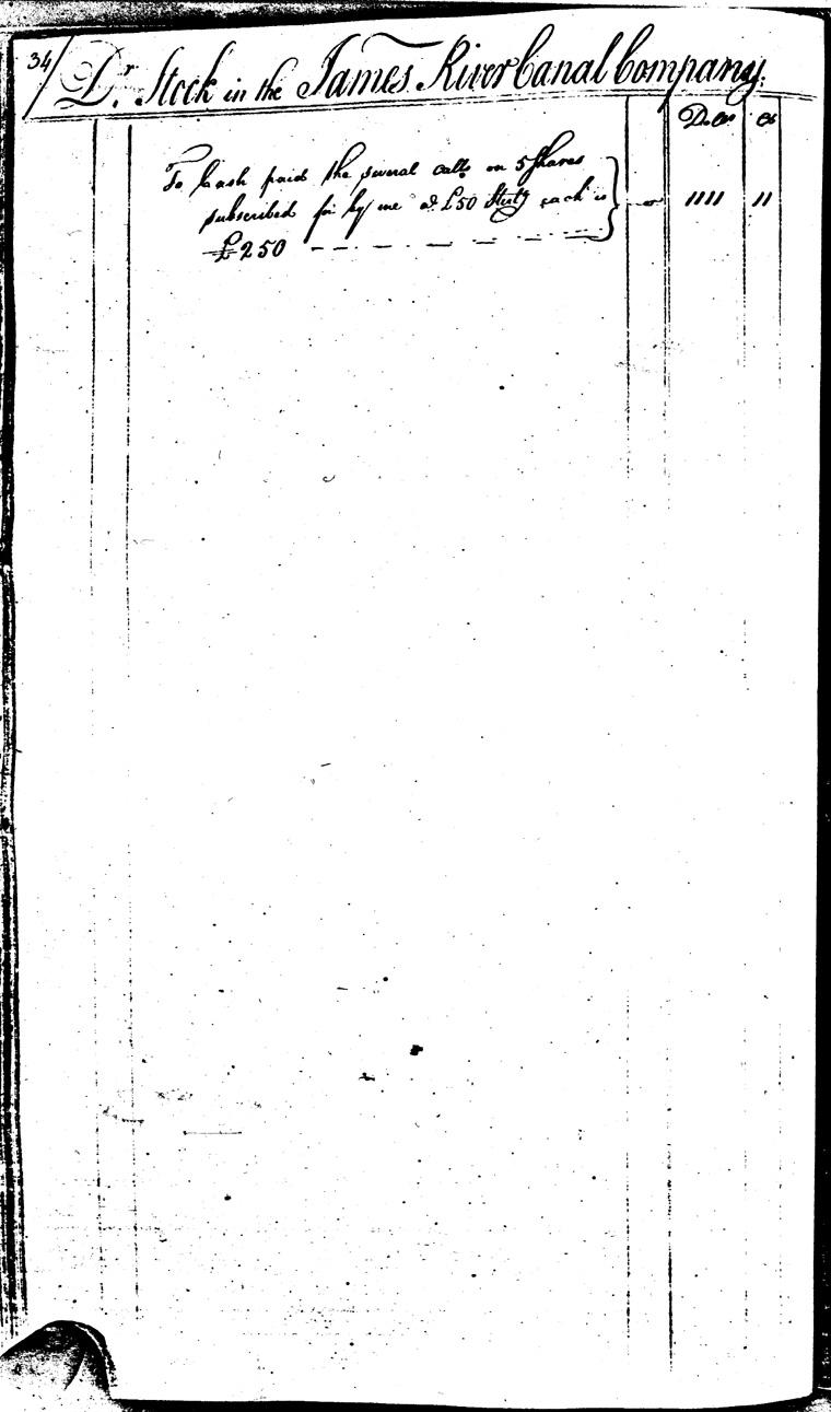 Ledger C, folio 34, left side