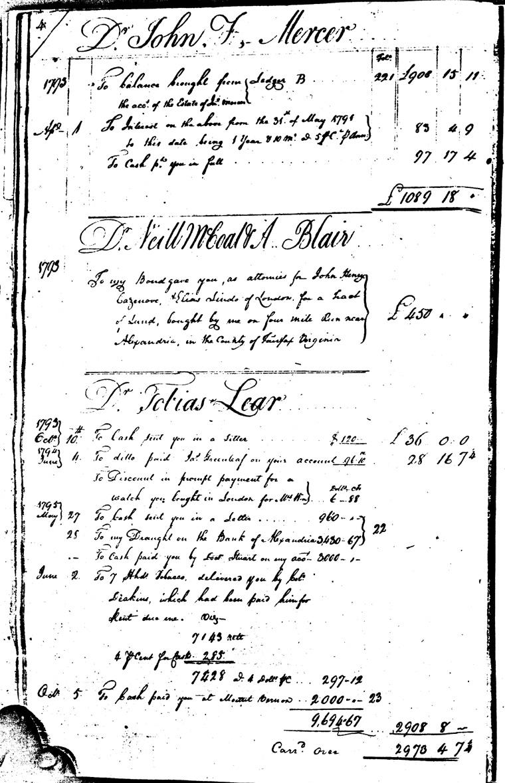 Ledger C, folio 4, left side