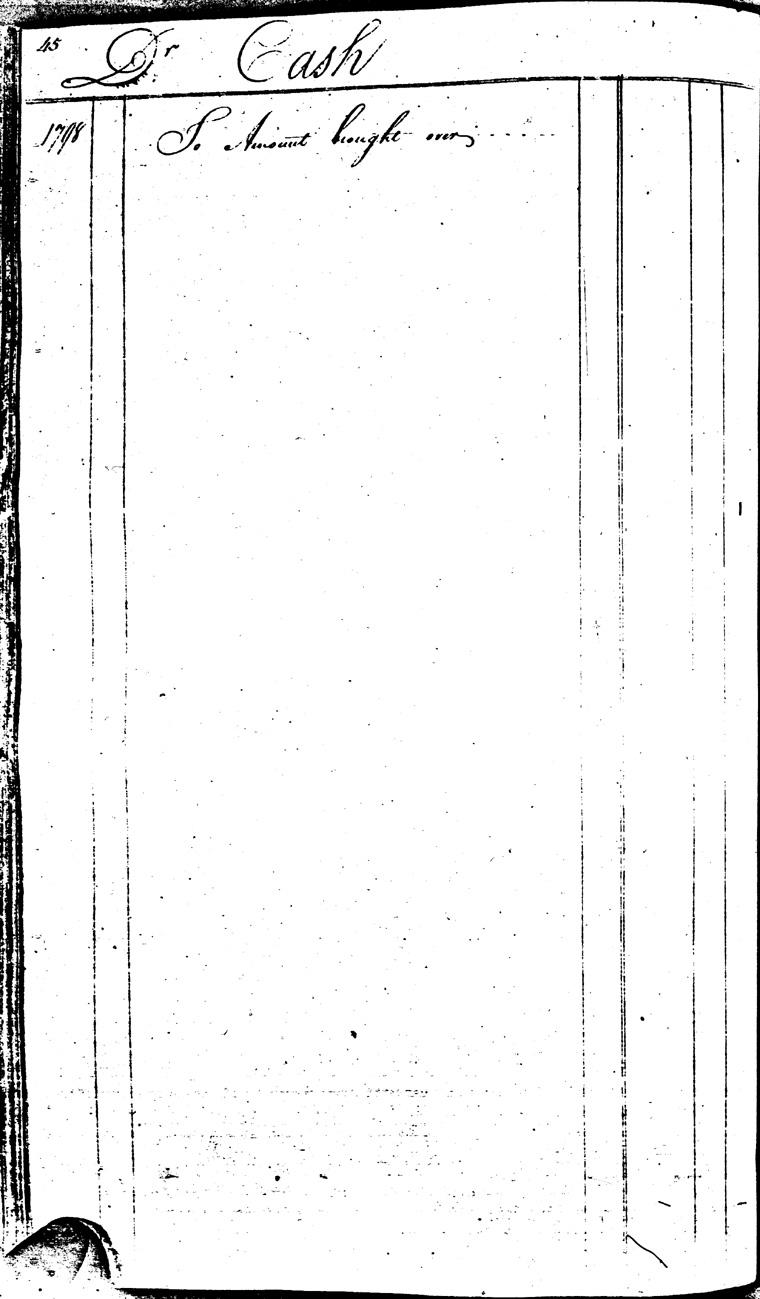 Ledger C, folio 45, left side