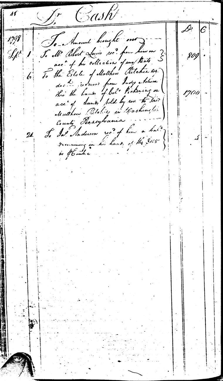 Ledger C, folio 48, left side