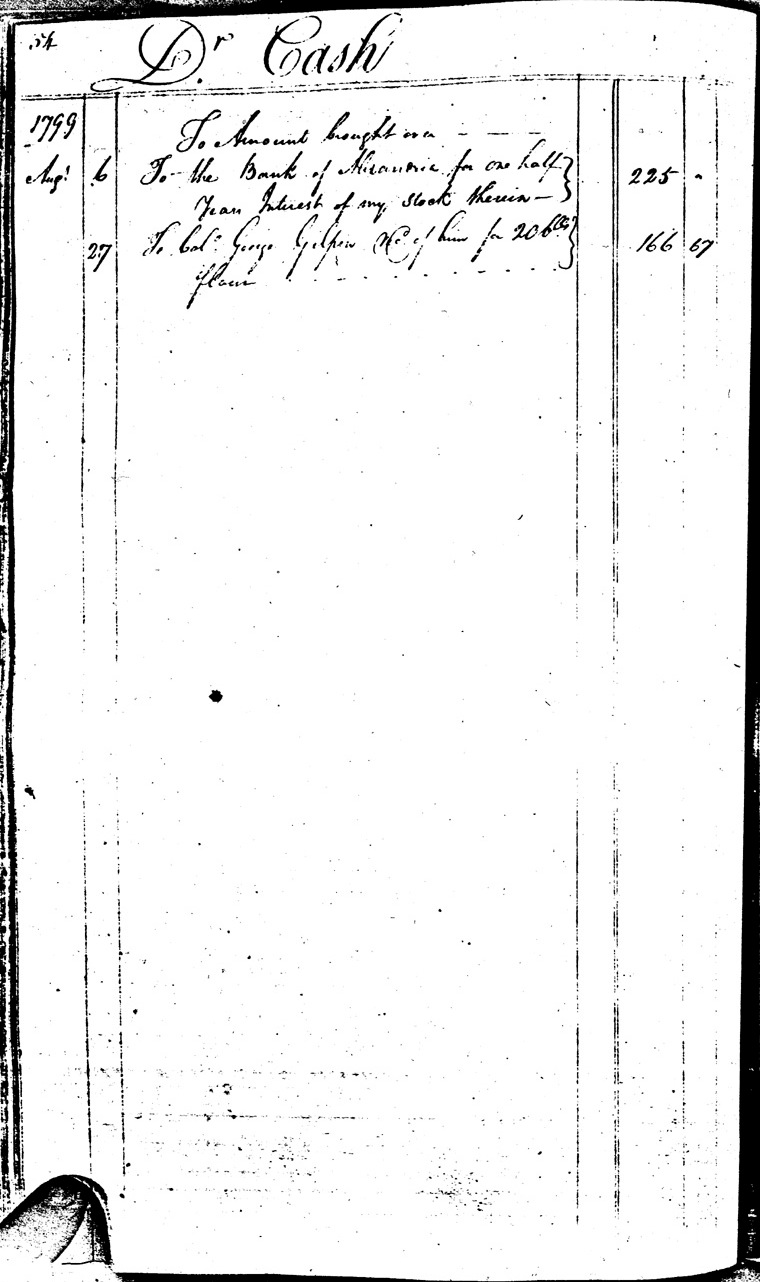 Ledger C, folio 54, left side