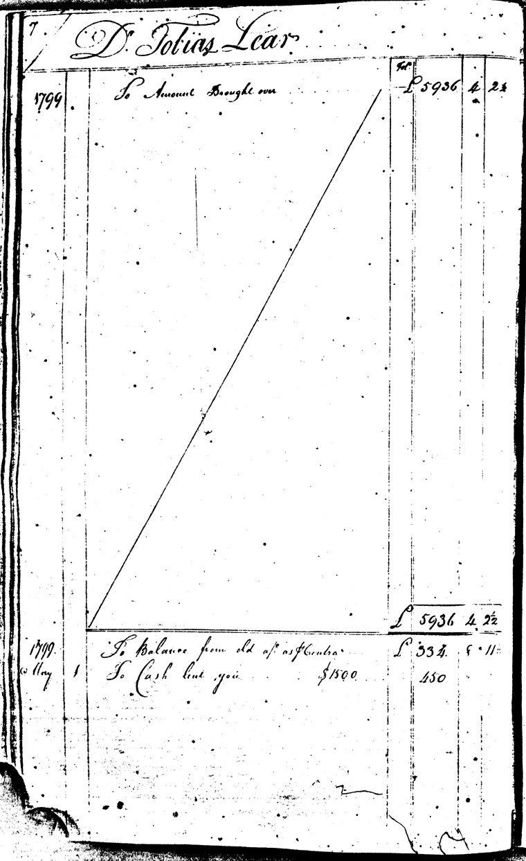 Ledger C, folio 7, left side