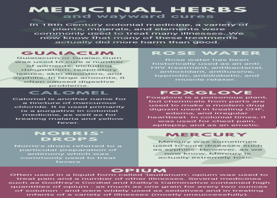 Medicinal Herbs and Wayward Cures
